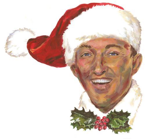 "Pelas ondas do rádio, Bing Crosby leva ""White Christmas"" aos americanos"
