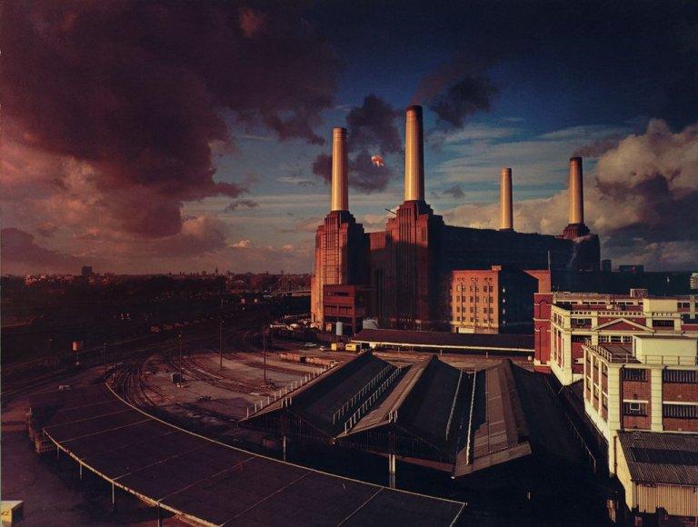 Pink Floyd termina a produção da capa de Animals