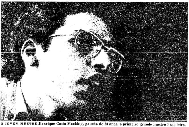 Mequinho, o 1º brasileiro Grande Mestre Internacional do Xadrez