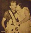 Campeão no Vasco, em 1956