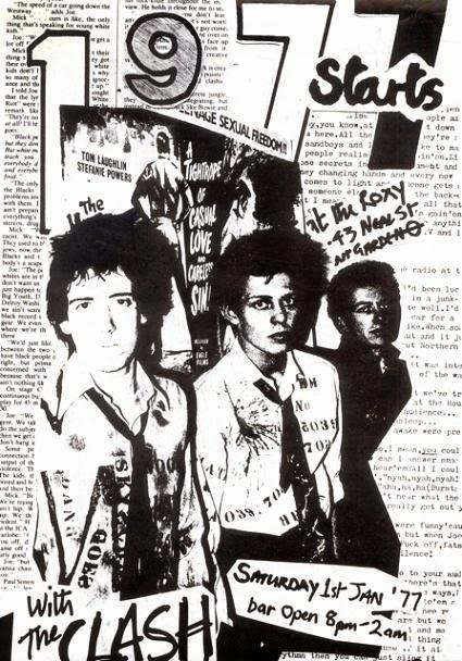The Clash assina contrato com a CBS