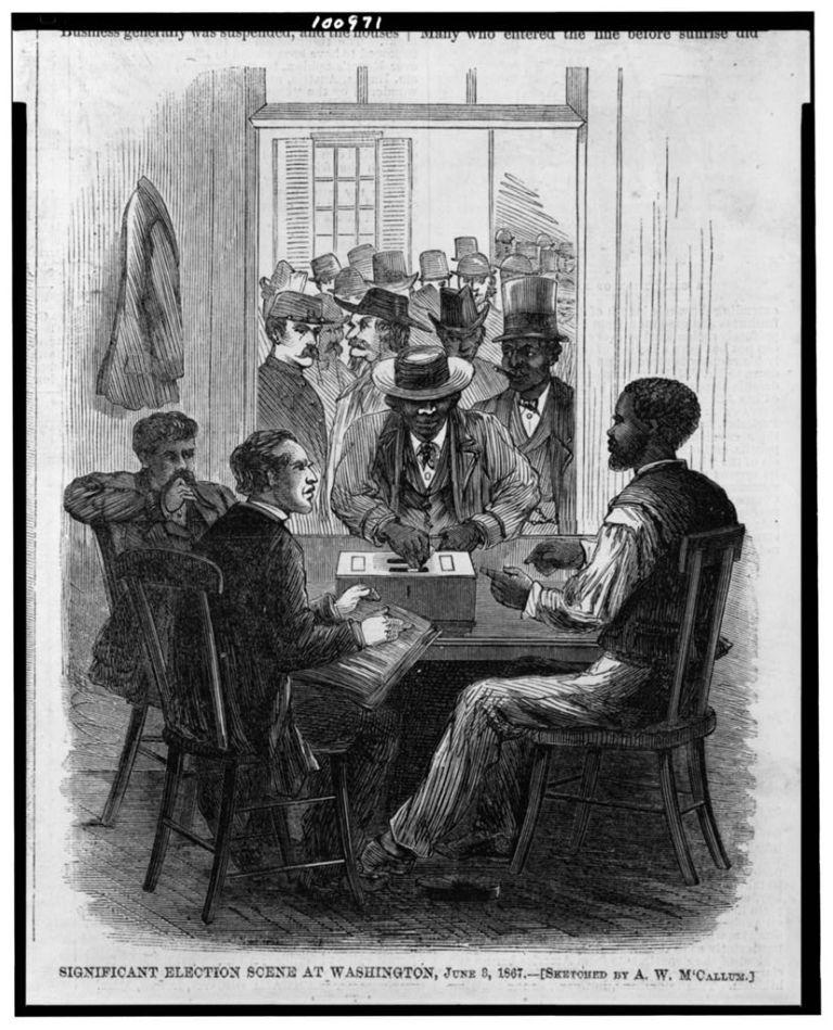Negros de Washington DC conquistam direito ao voto