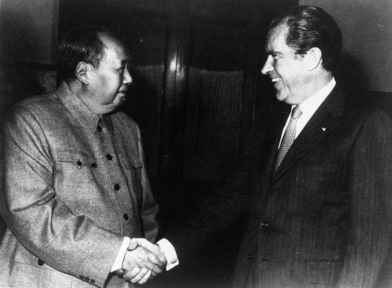 A histórica visita de Nixon à China de Mao