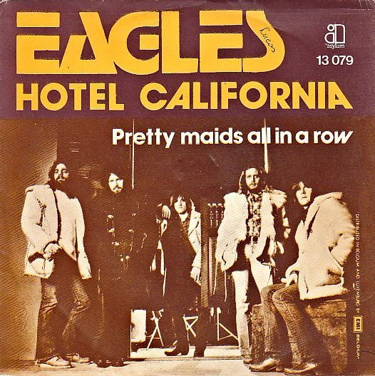 "Eagles lançam compacto de ""Hotel California"""