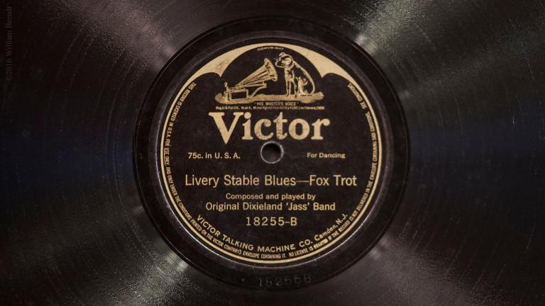 Primeiro jazz é gravado nos Estados Unidos