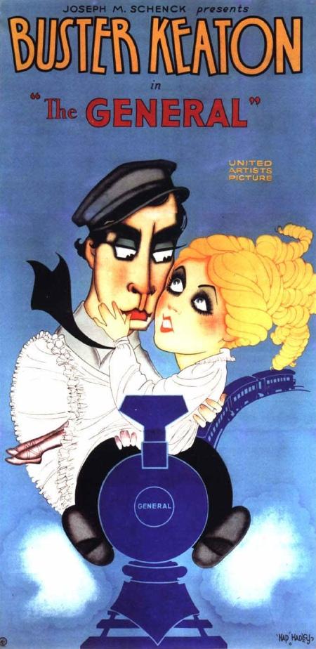"""""""A General"""", com Buster Keaton, estreia em Nova York"""