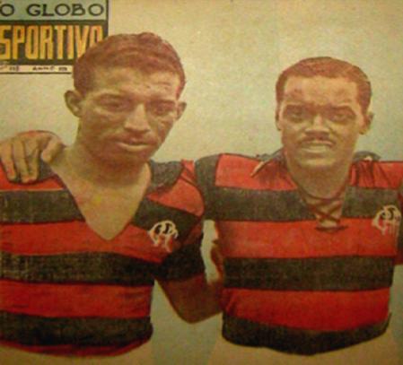 Com Leônidas da Silva