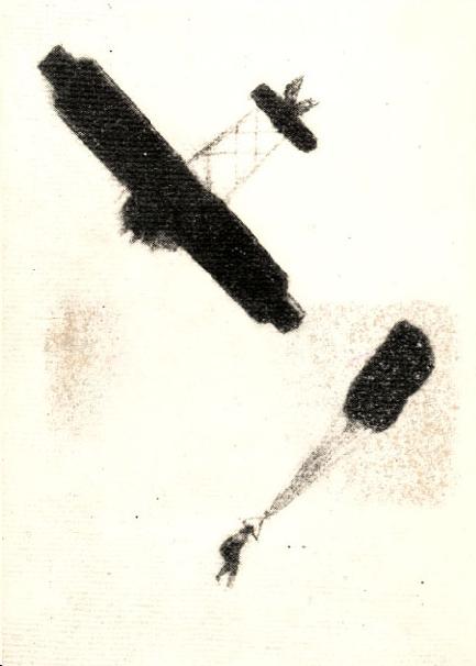 Albert Berry é o primeiro a saltar de paraquedas de um avião