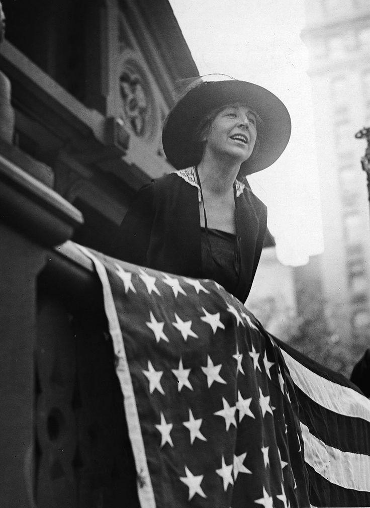 Jeannette Rankin, a primeira mulher no Congresso americano