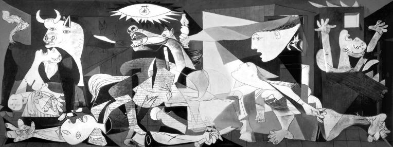 """""""Guernica"""" é exibida pela primeira vez em Paris"""
