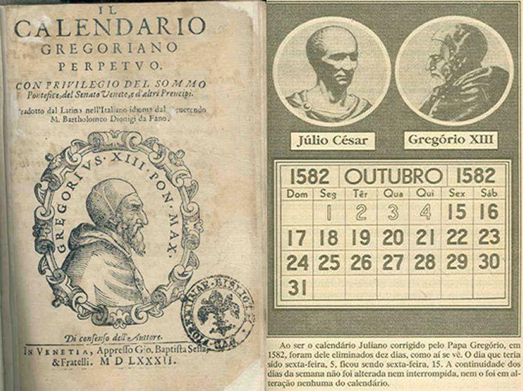 Calendario Gregoriano.Os 10 Dias Que Nao Existiram Efemerides Do Efemello